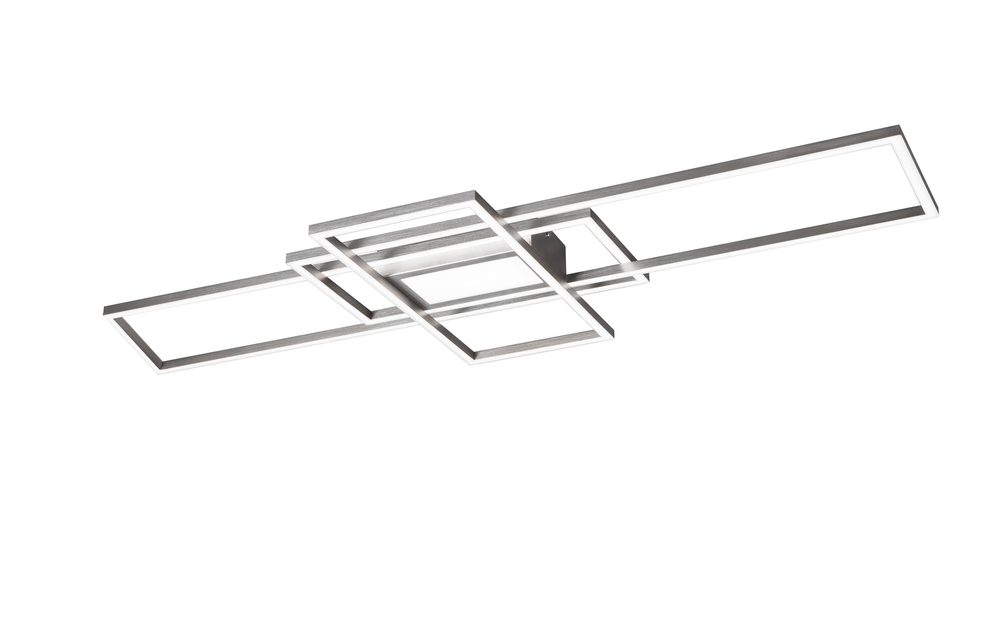 LED-Deckenleuchte Irvine in nickel