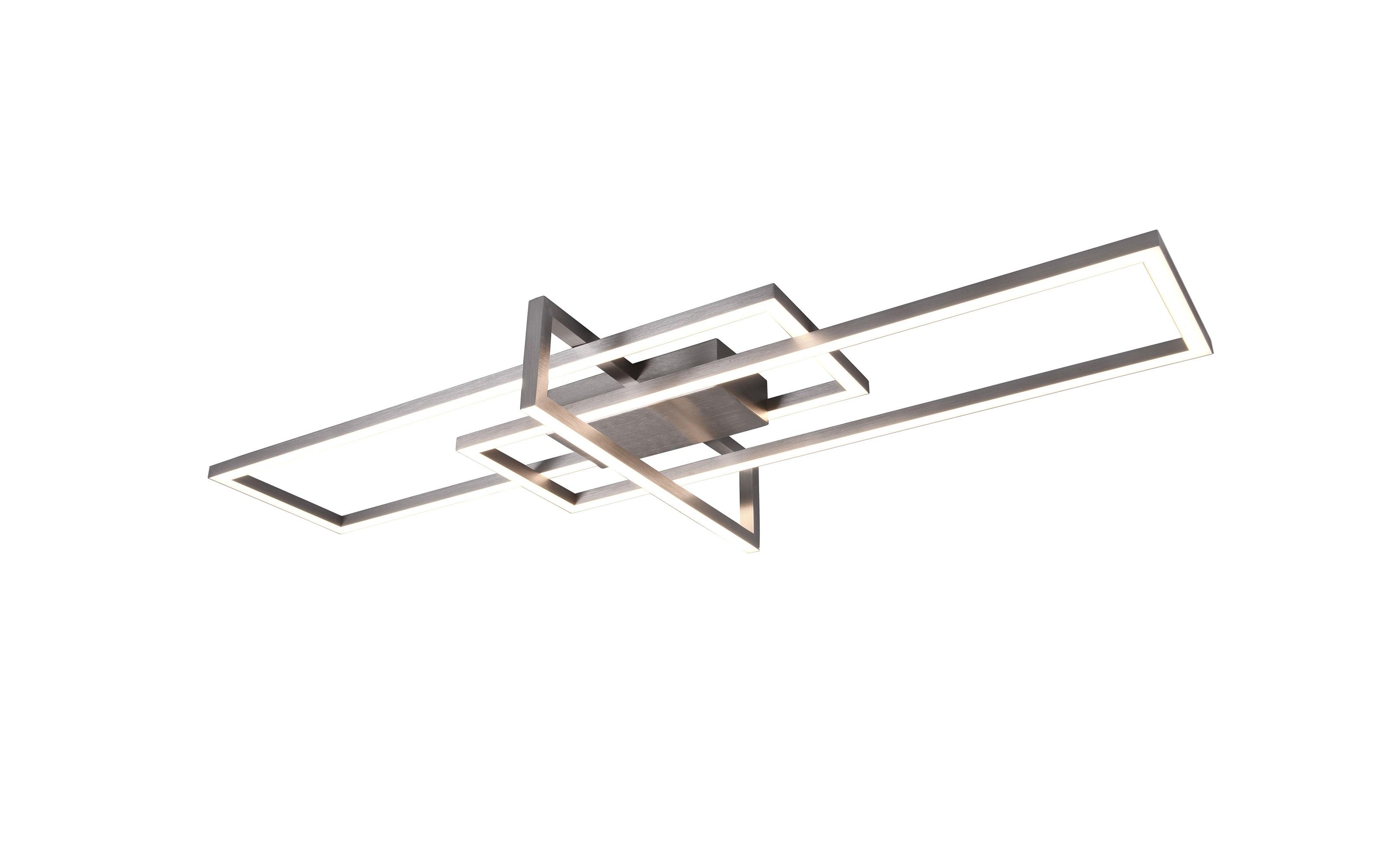 LED-Deckenleuchte Salinas in nickel, 100 cm