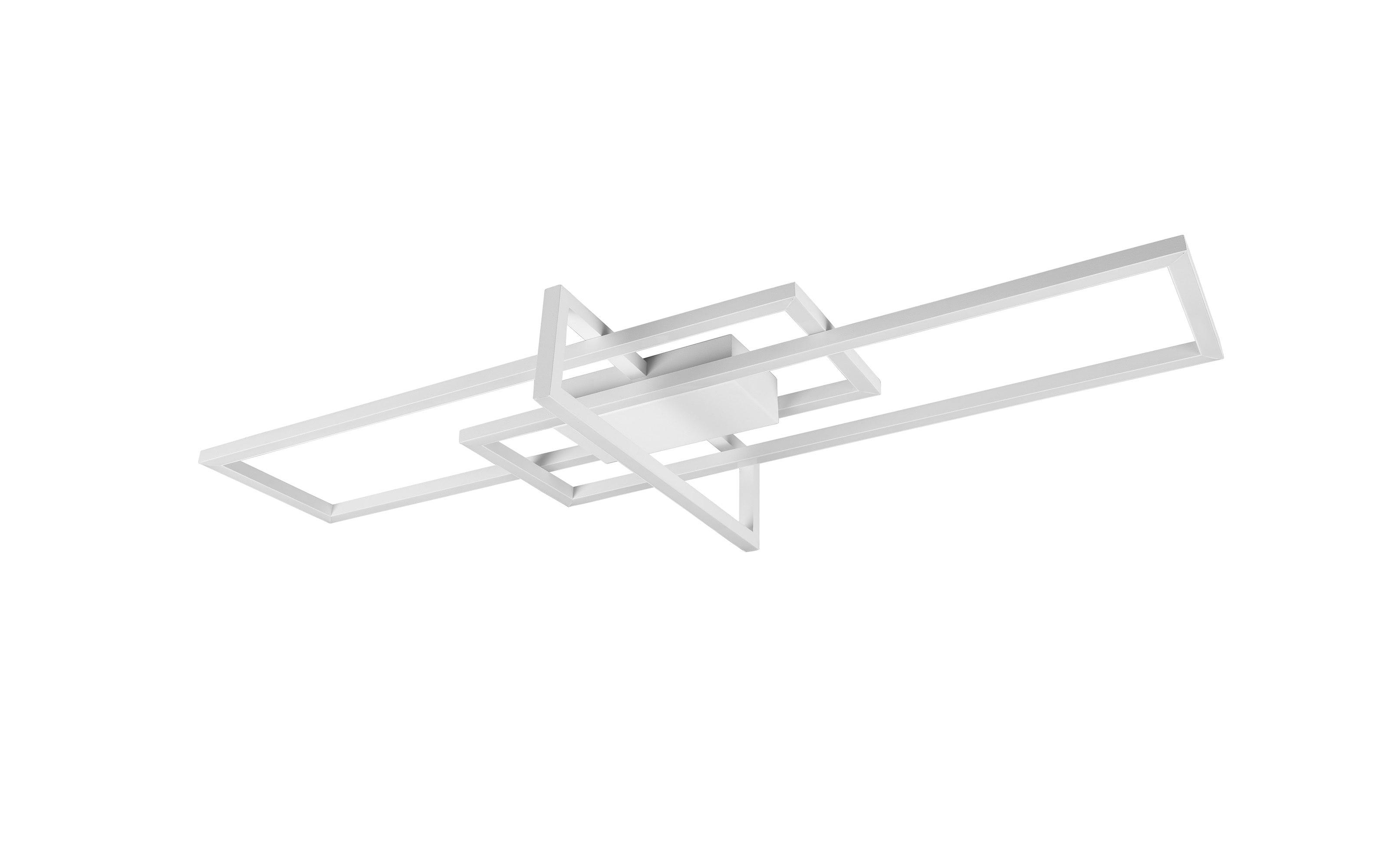 LED-Deckenleuchte Salinas in weiß, 100 cm