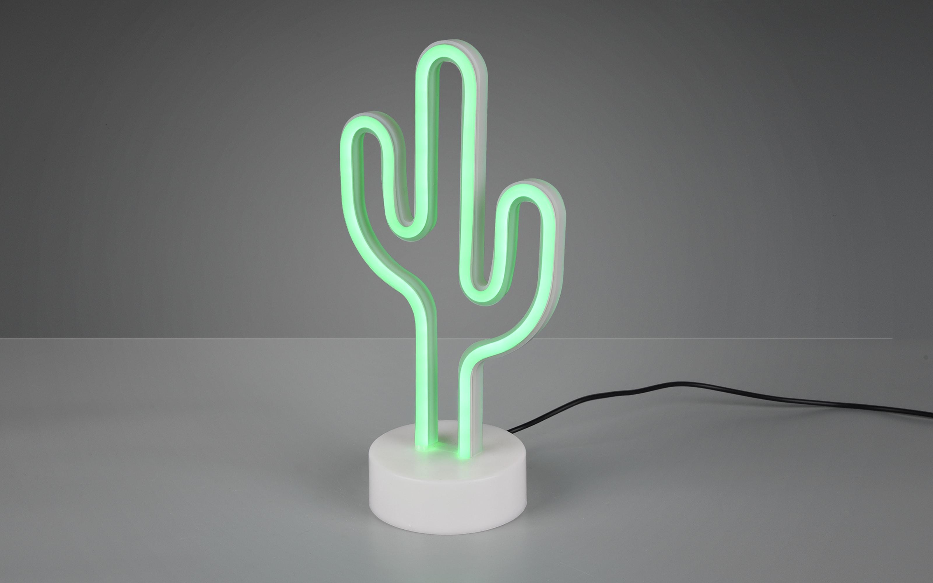 LED-Tischleuchte Cactus in weiß