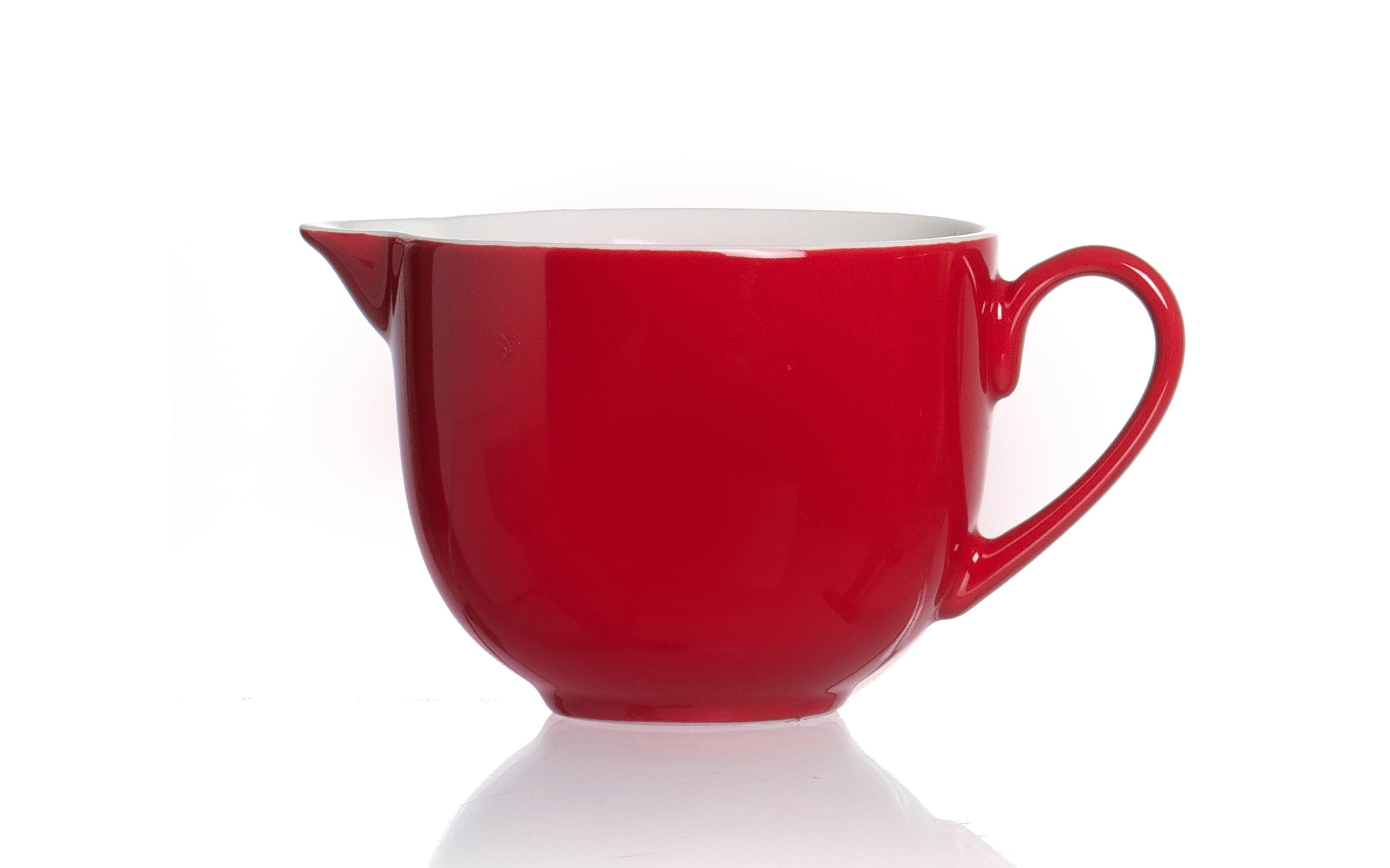 Milchkännchen Doppio in rot, 160 ml