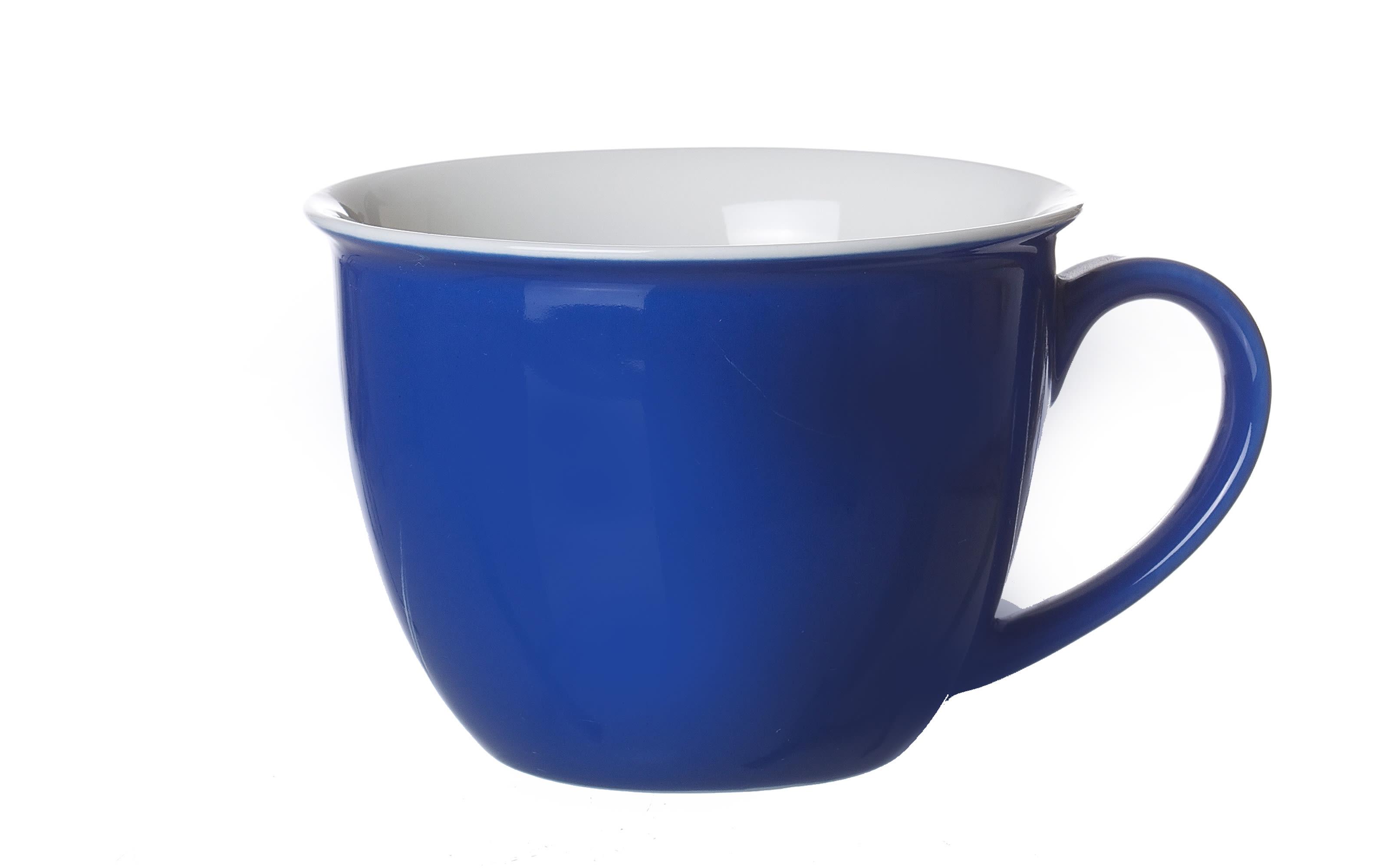 Jumbo Tasse Doppio in indigo, 350 ml