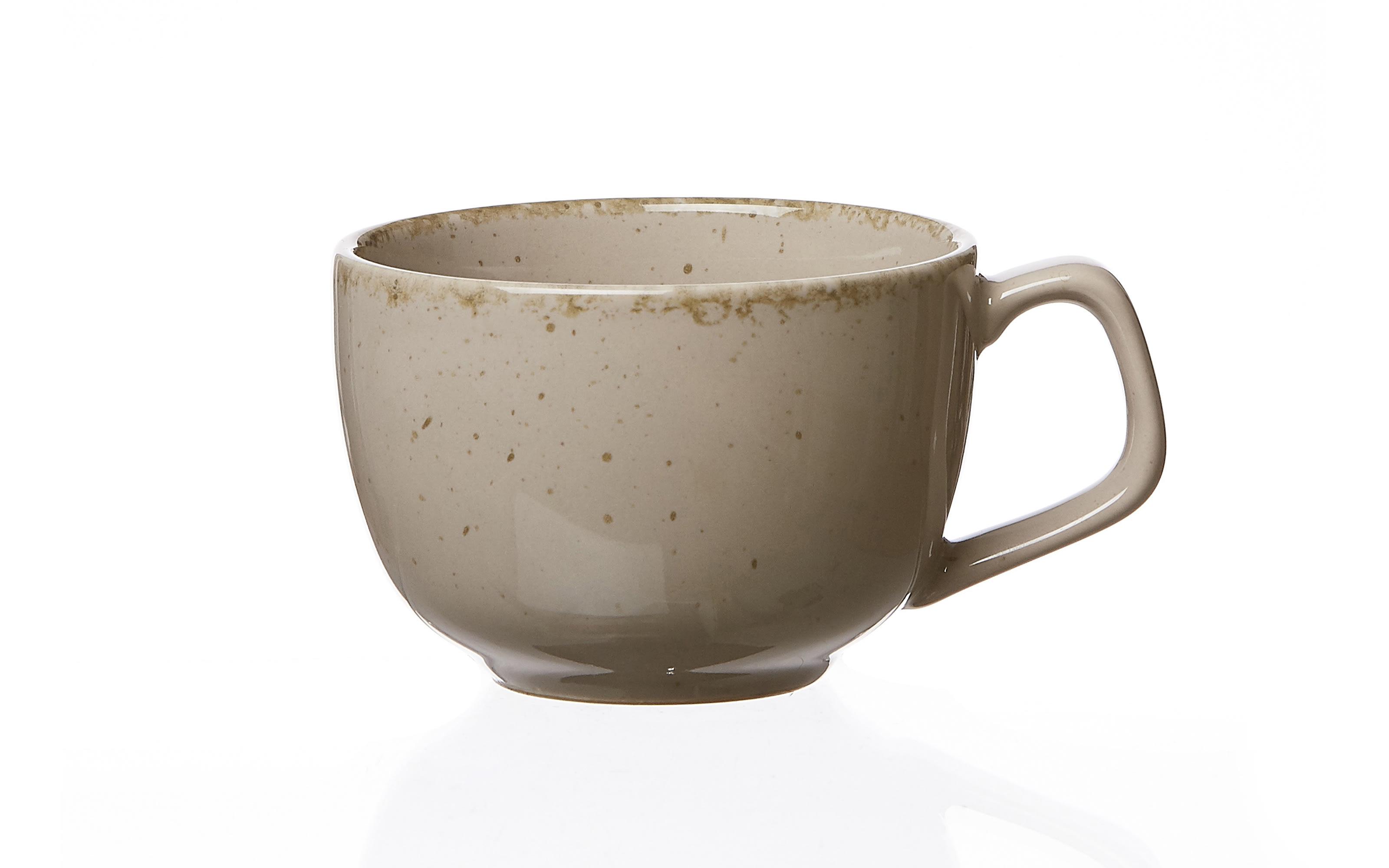 Kaffeetasse Casa in grau, 200 ml