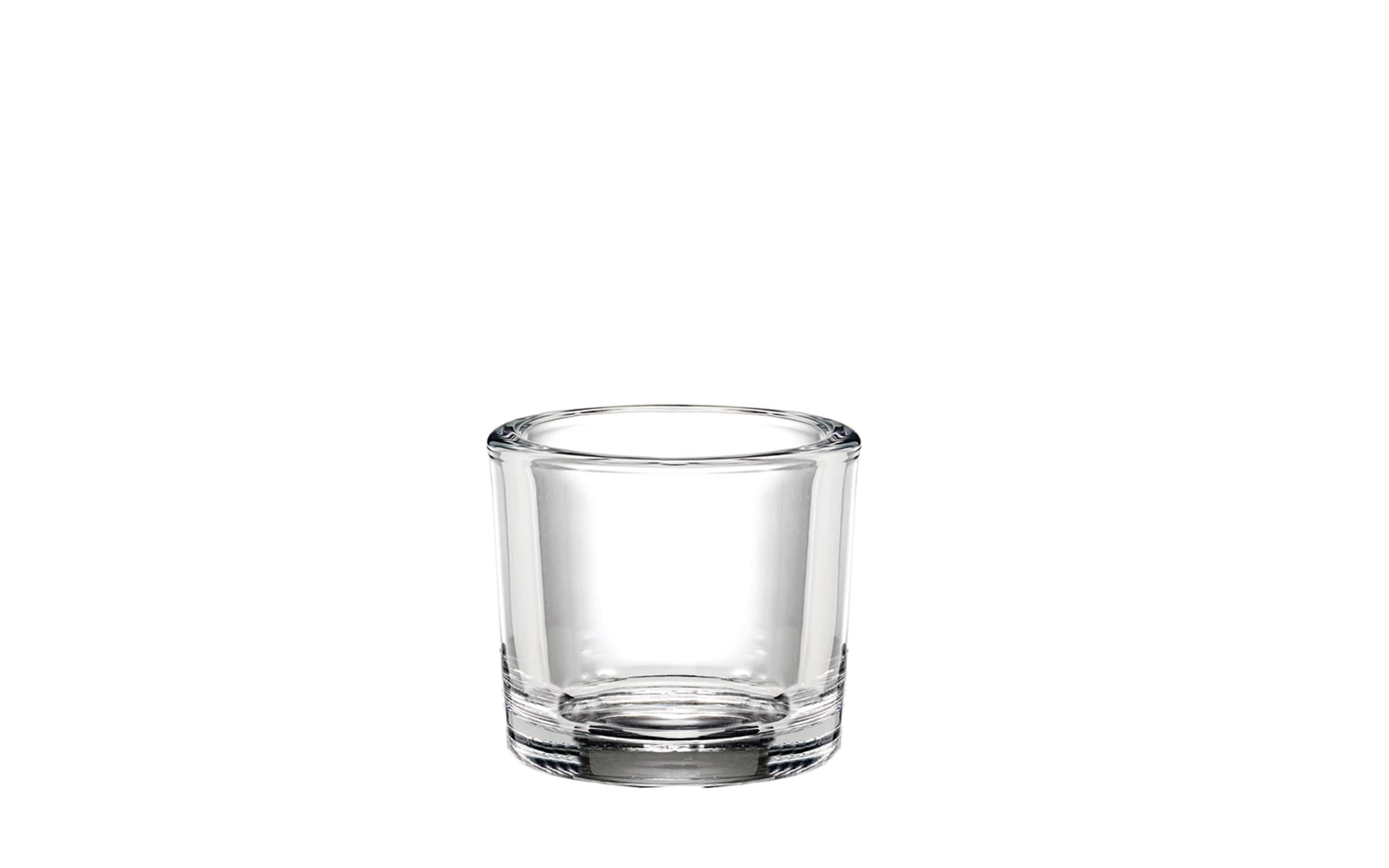 Glas Windlicht, 9 cm
