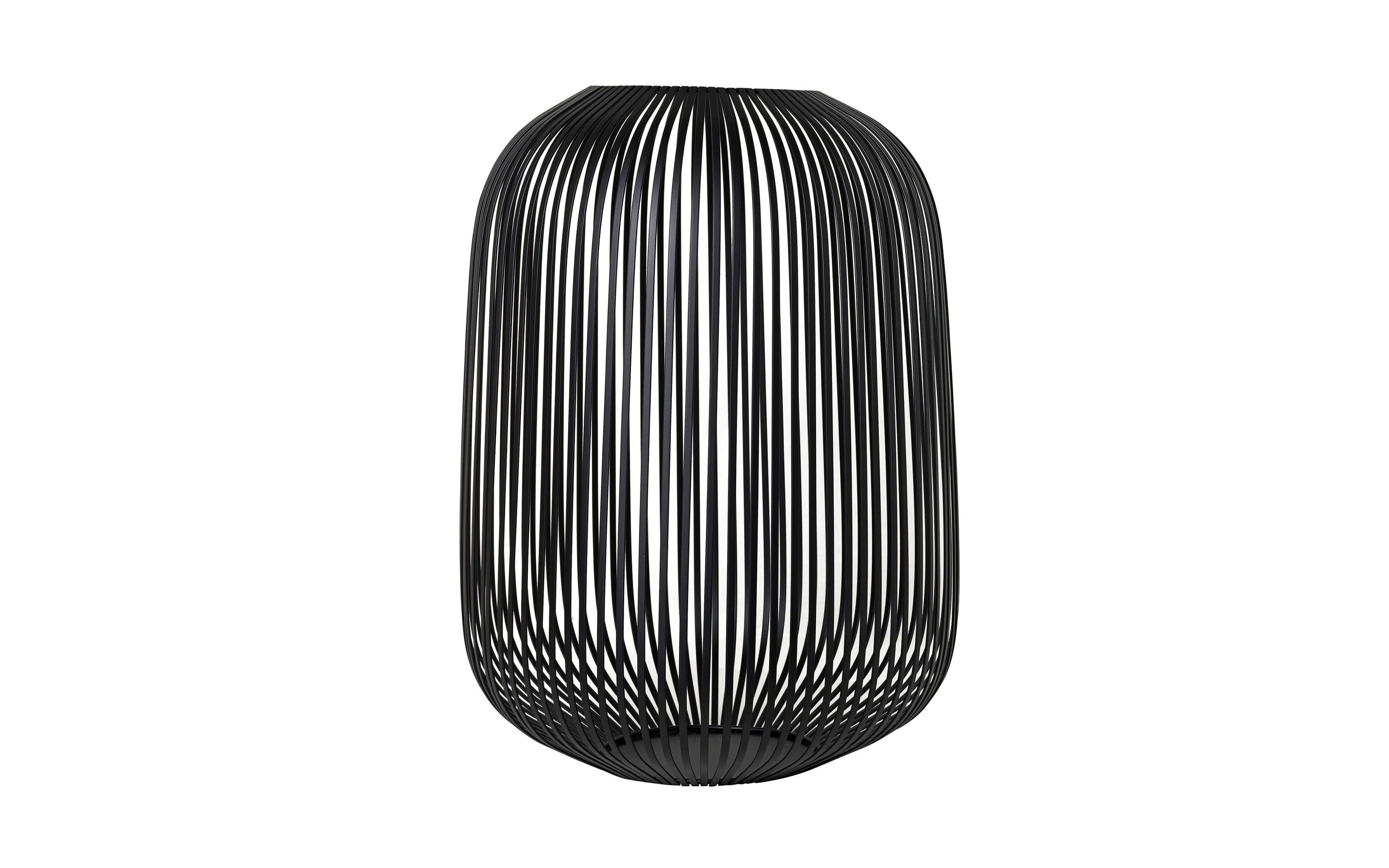 Laterne Lito in schwarz, 33 x 45 x 33 cm