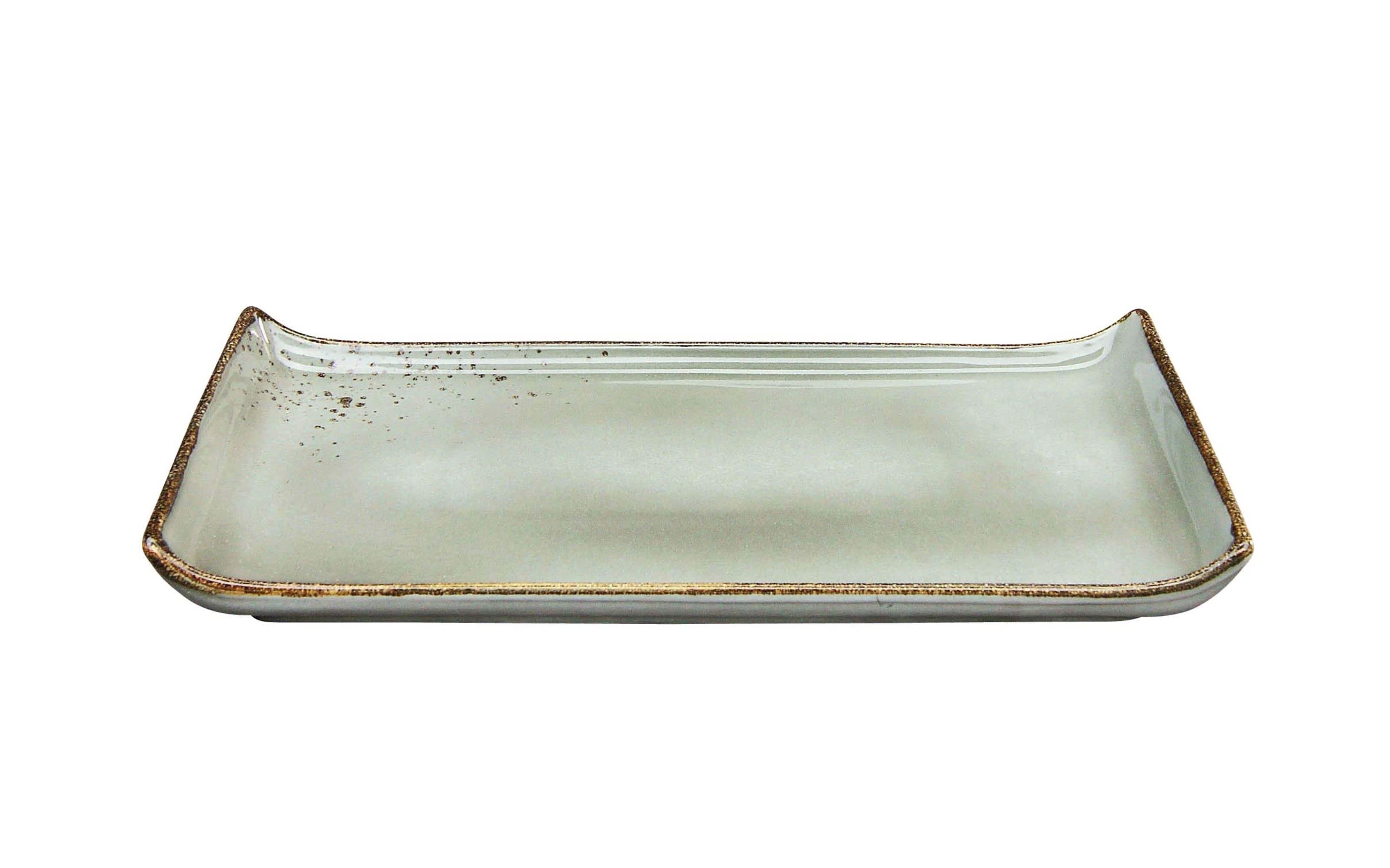 BBQ Platte Nature Collection in steingrau, 33 x 16,5 cm
