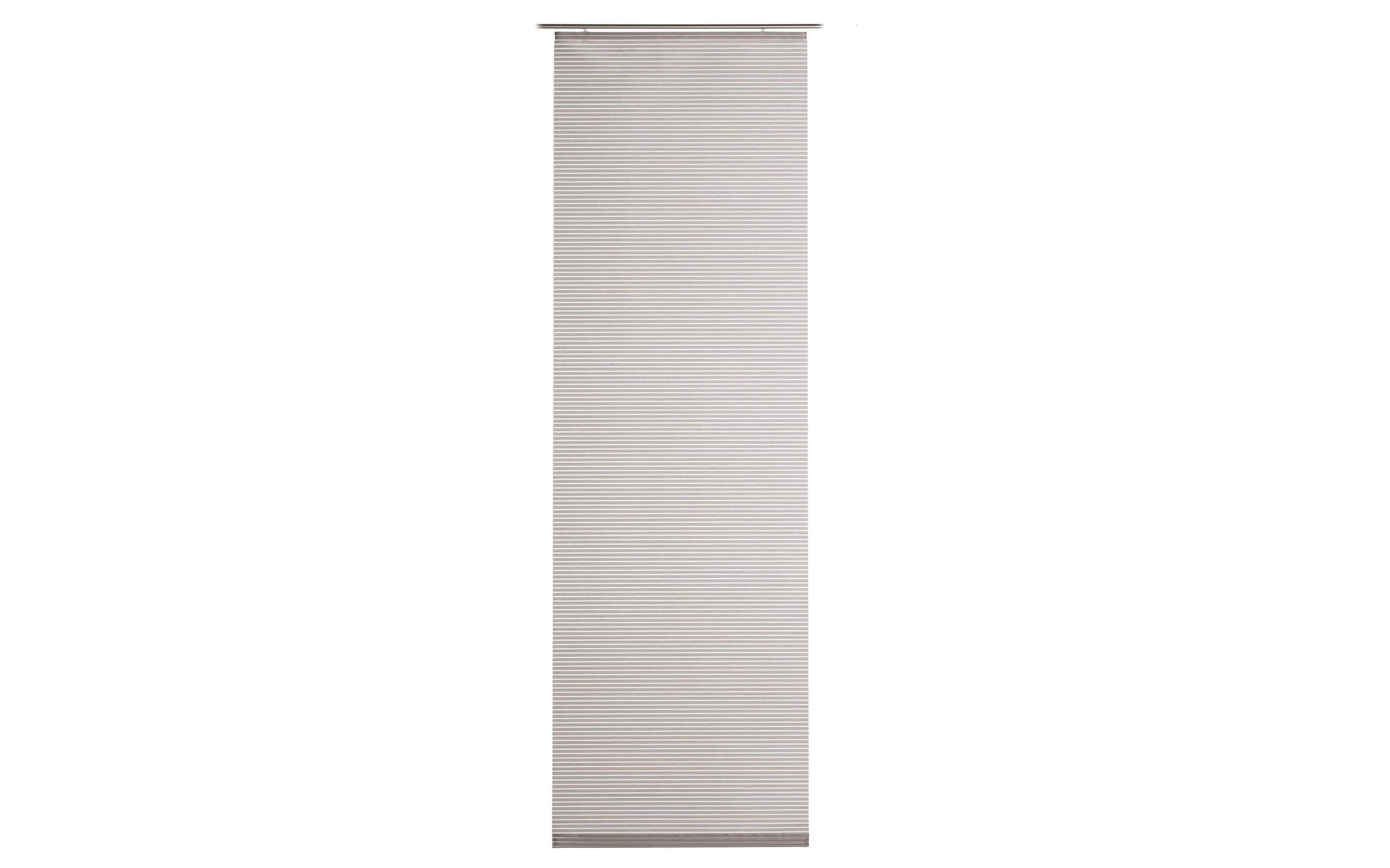Schiebevorhang Valegro Legere in taupe, 60 x 245 cm