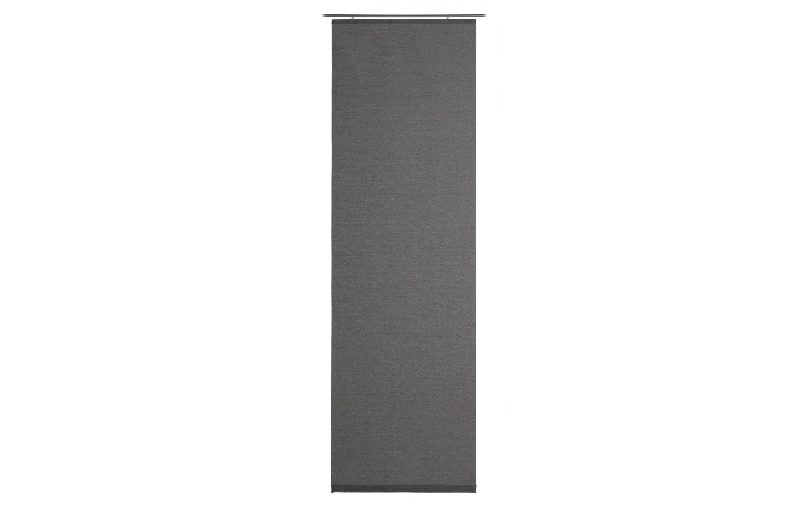 Schiebevorhang Valegro in anthrazit, 60 x 245 cm