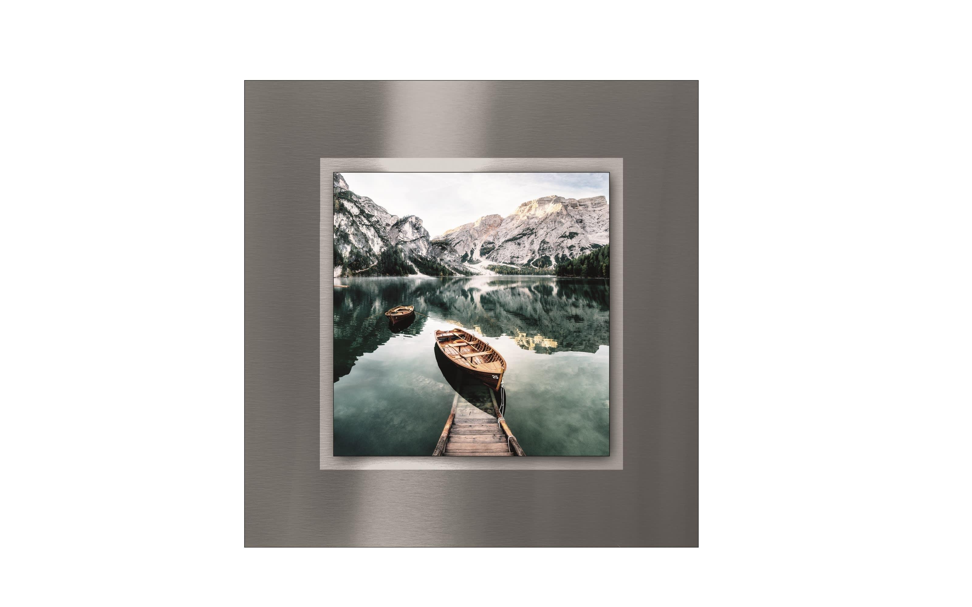 Alu-Art Wildsee III, 50 x 50 cm