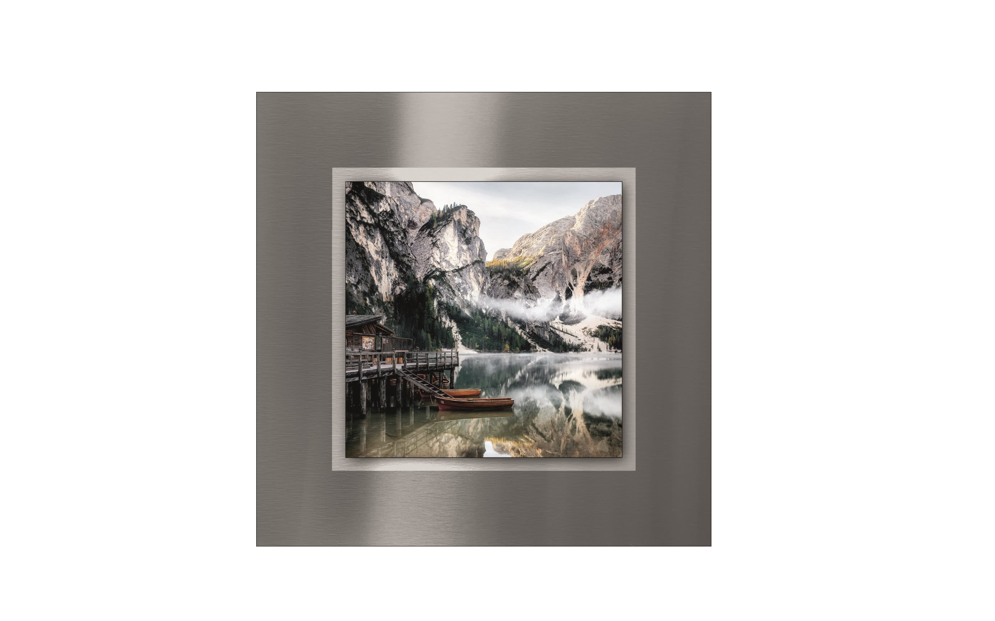 Alu-Art Wildsee IV, 50 x 50 cm