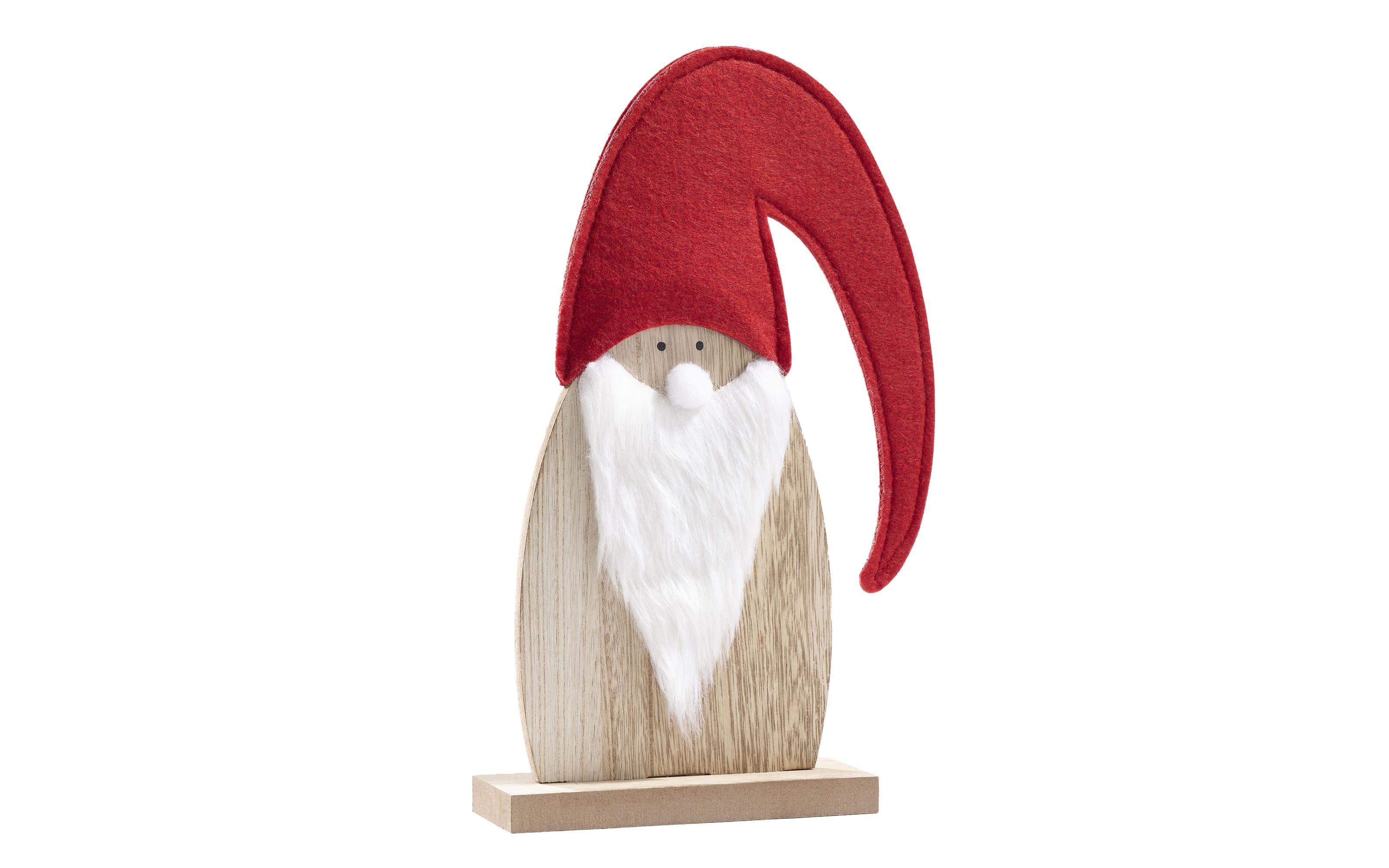 Weihnachtsmannfigur in rot, 20 cm