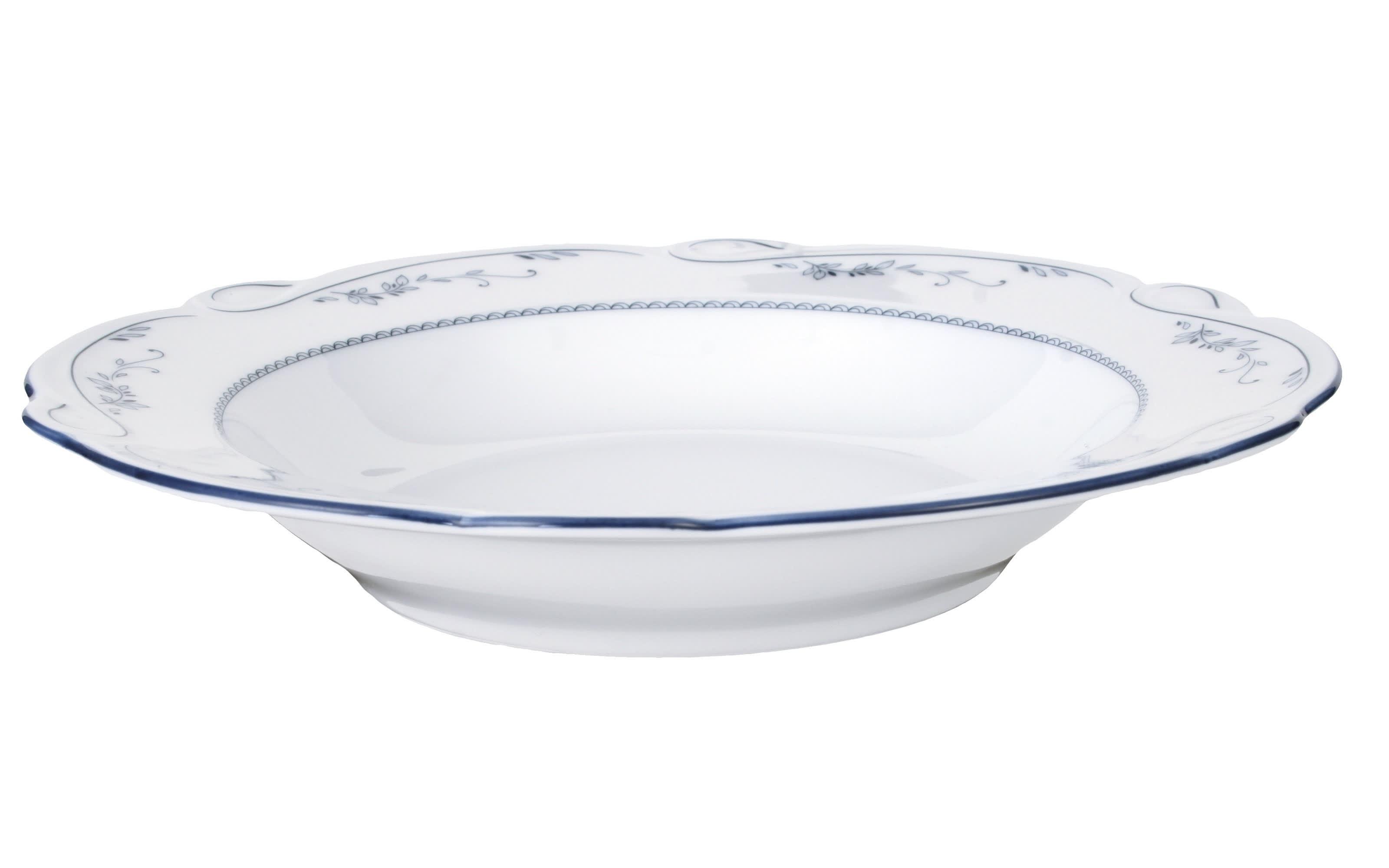 Suppenteller Desiree Aalborg in weiß, 23 cm