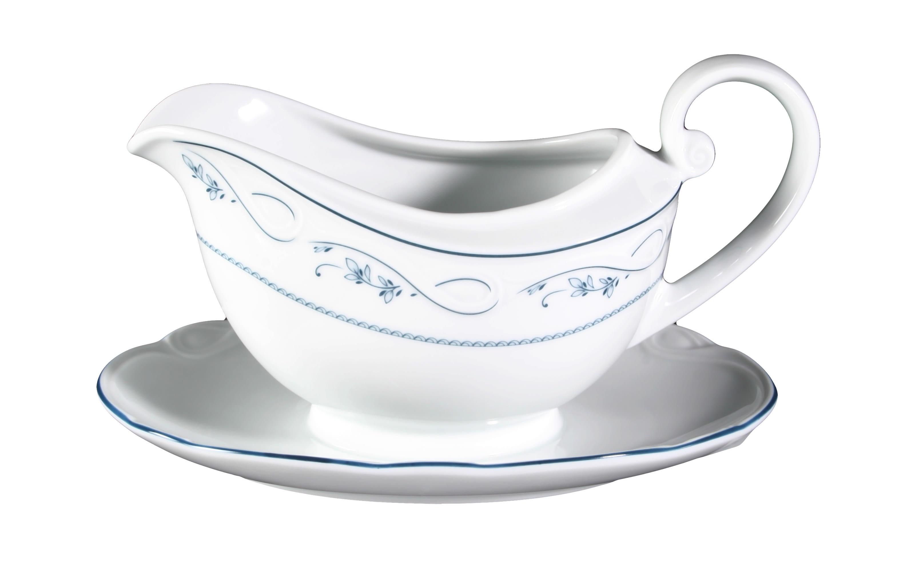 Sauciere Desiree Aalborg in weiß, 0,45 l