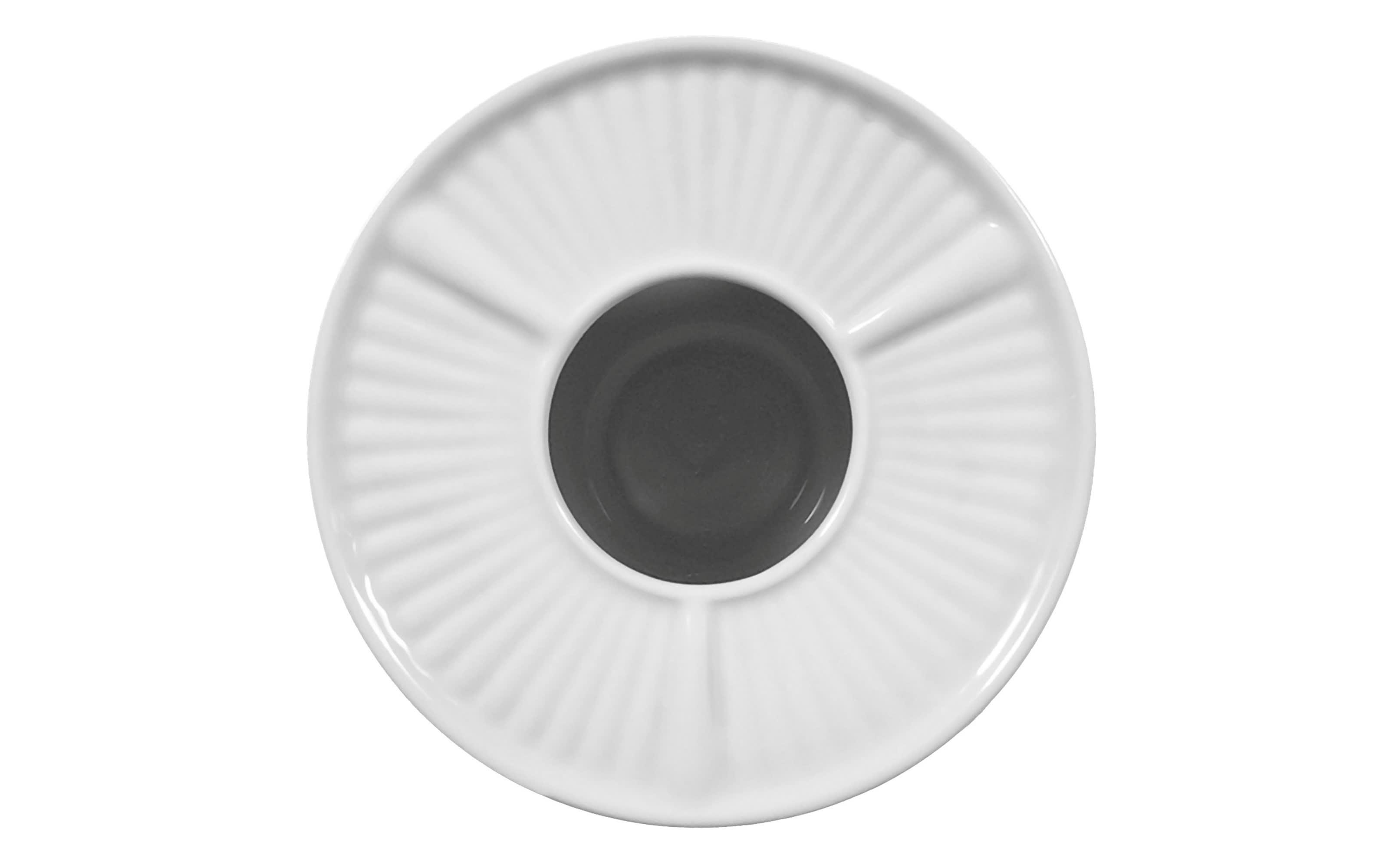 Stövchen Rondo Liane in weiß
