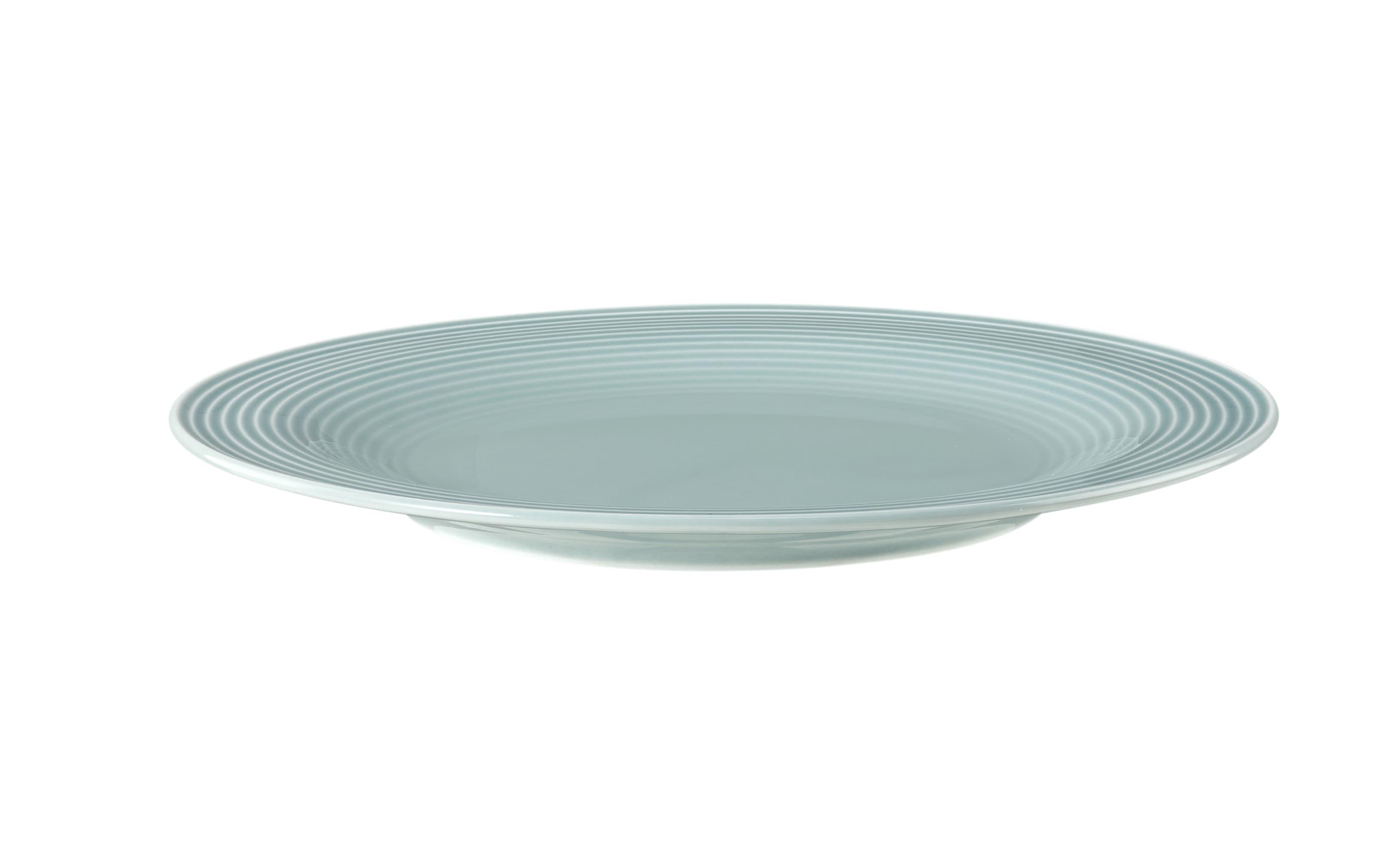 Frühstücksteller rund Beat in arktisblau, 23 cm
