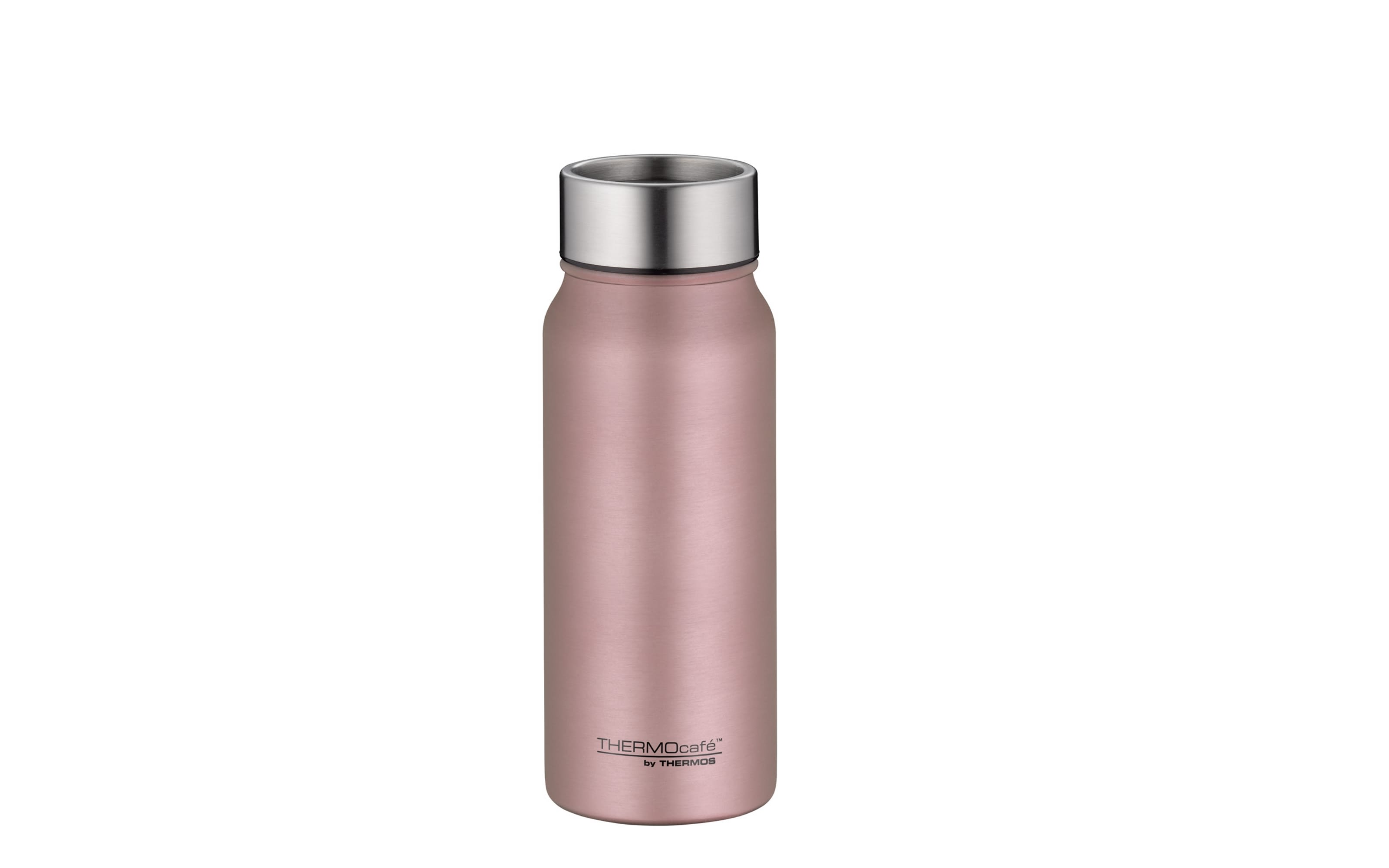 Thermos Isolierflasche Drinking Mug in rose gold, 500 ml