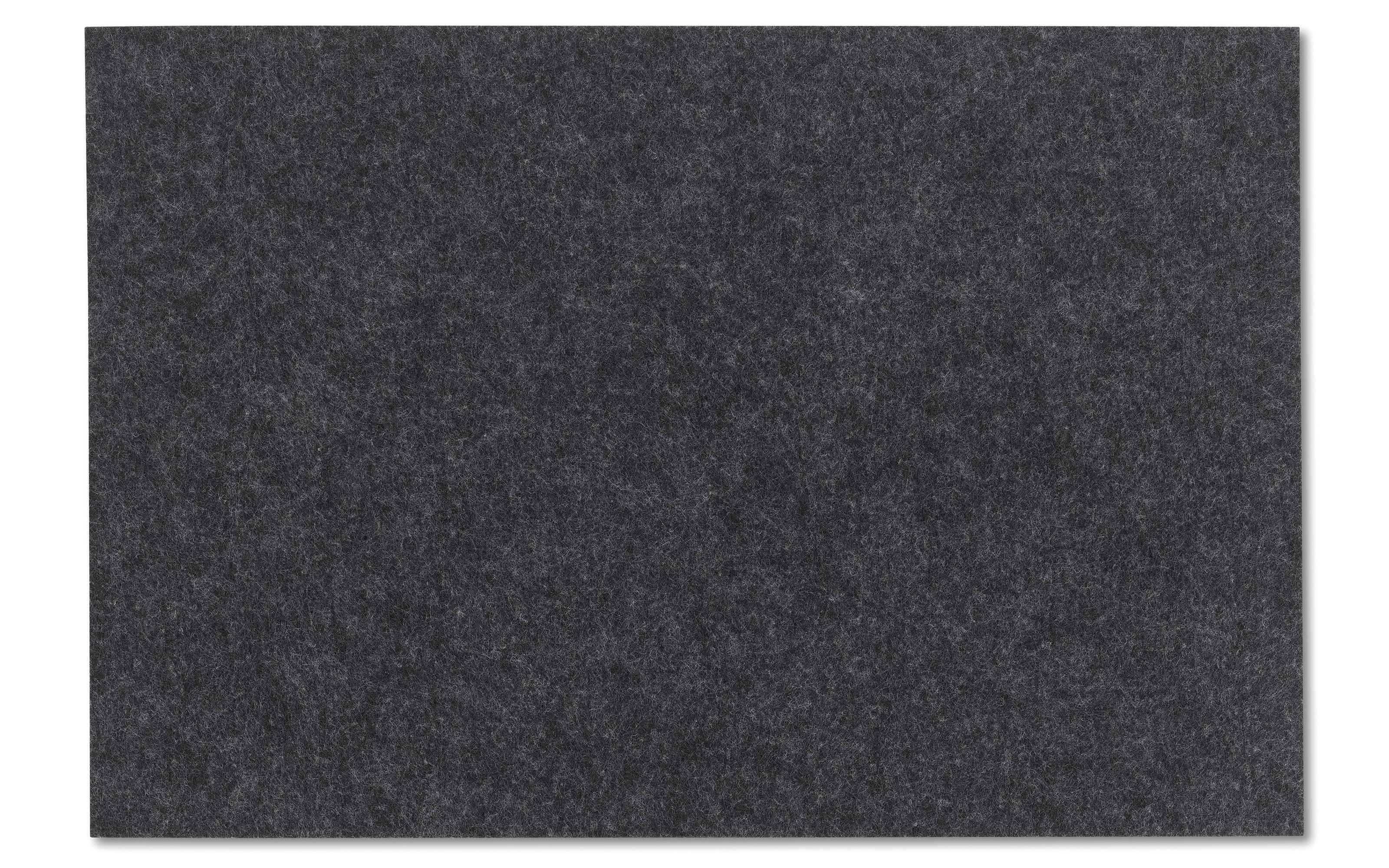 Tischset Alia in dunkelgrau, 30 x 45 cm