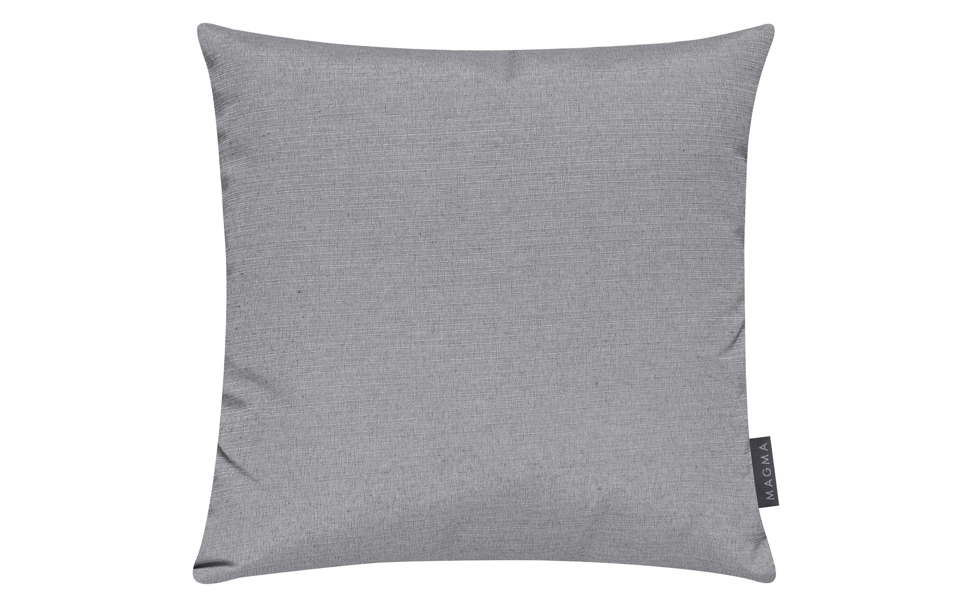 Kissenhülle Fino in grau, 40 x 40 cm
