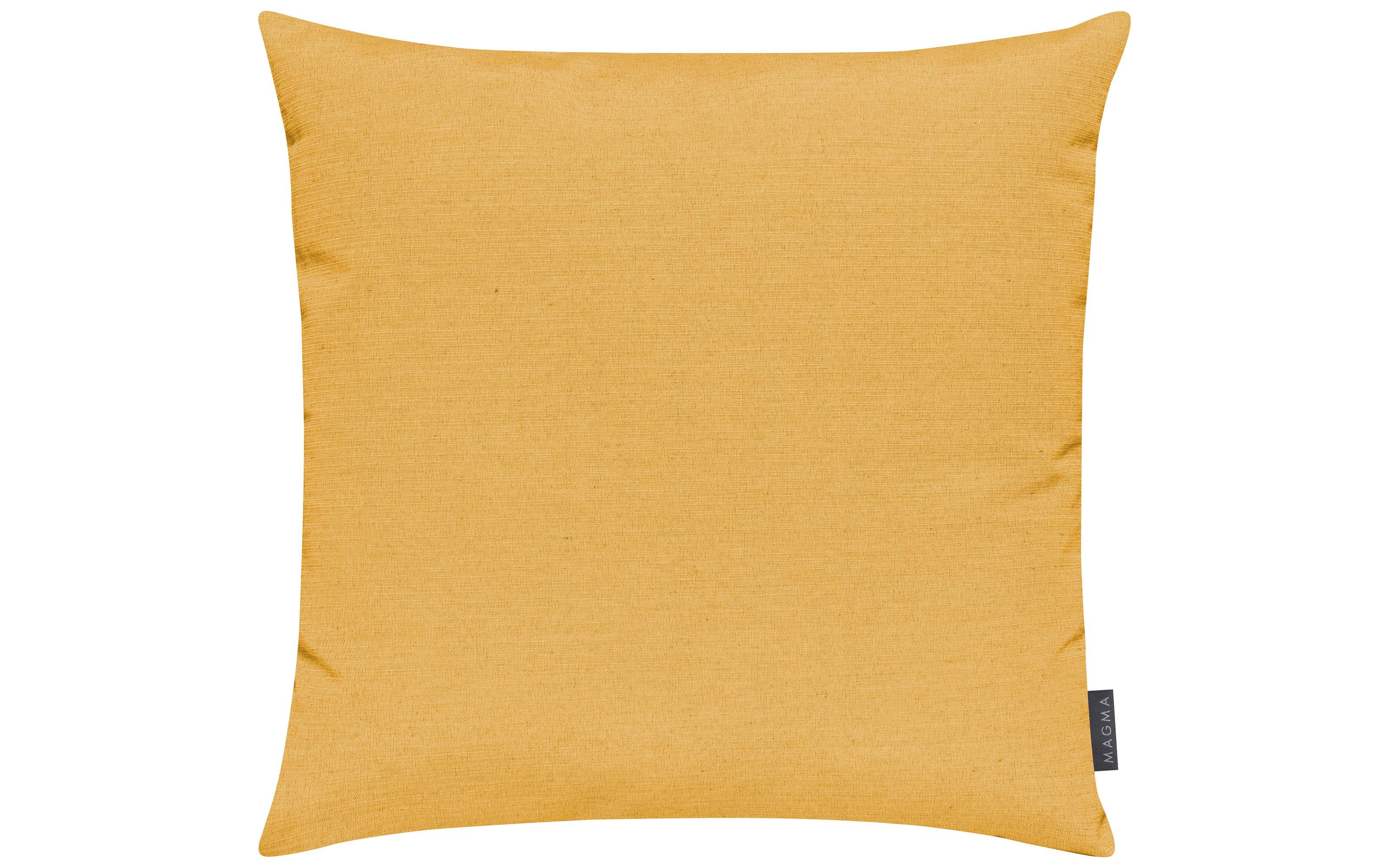 Kissenhülle Fino in gelb, 50 x 50 cm