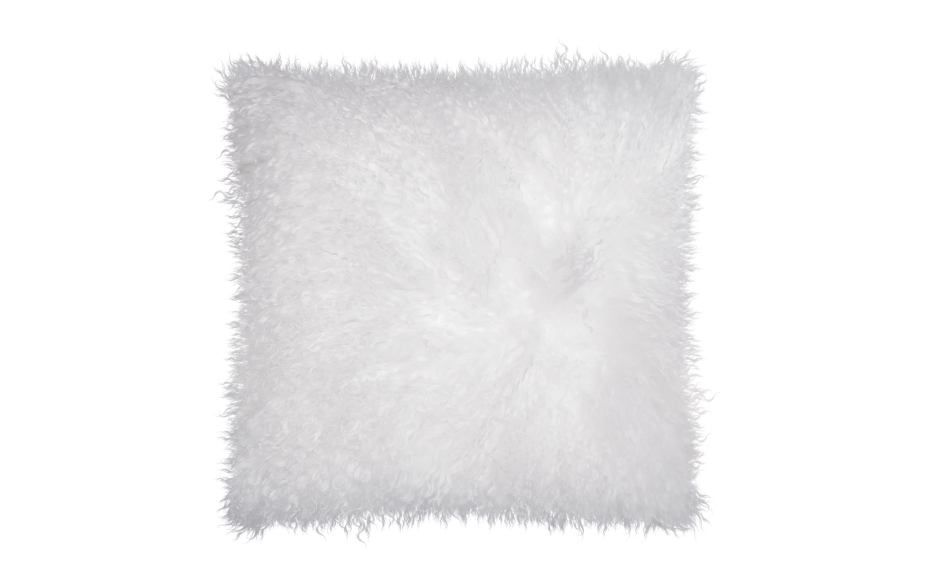 Kissenhülle Pamina in weiß, 40 x 40 cm