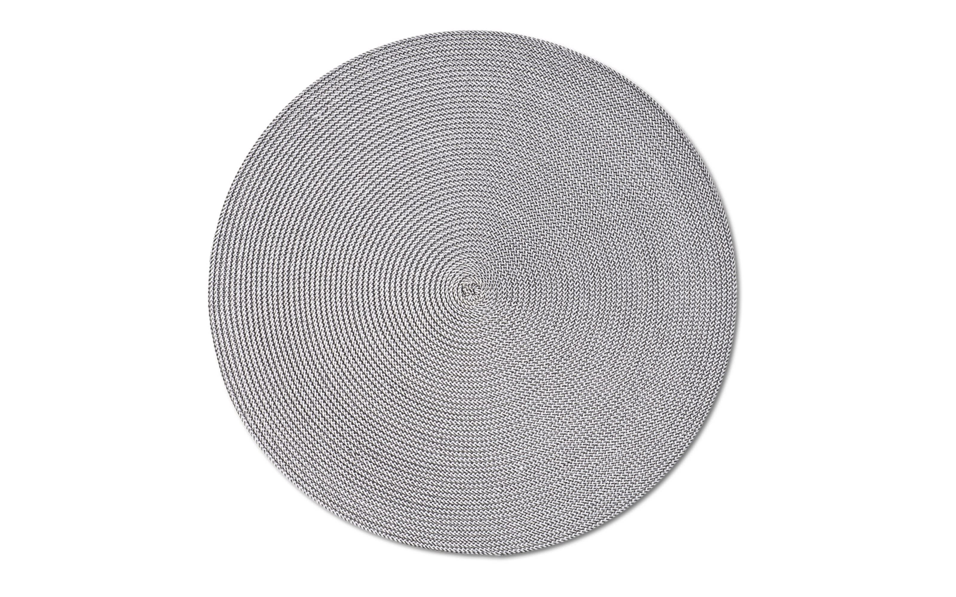 Tischset Twist in grau, 38 cm