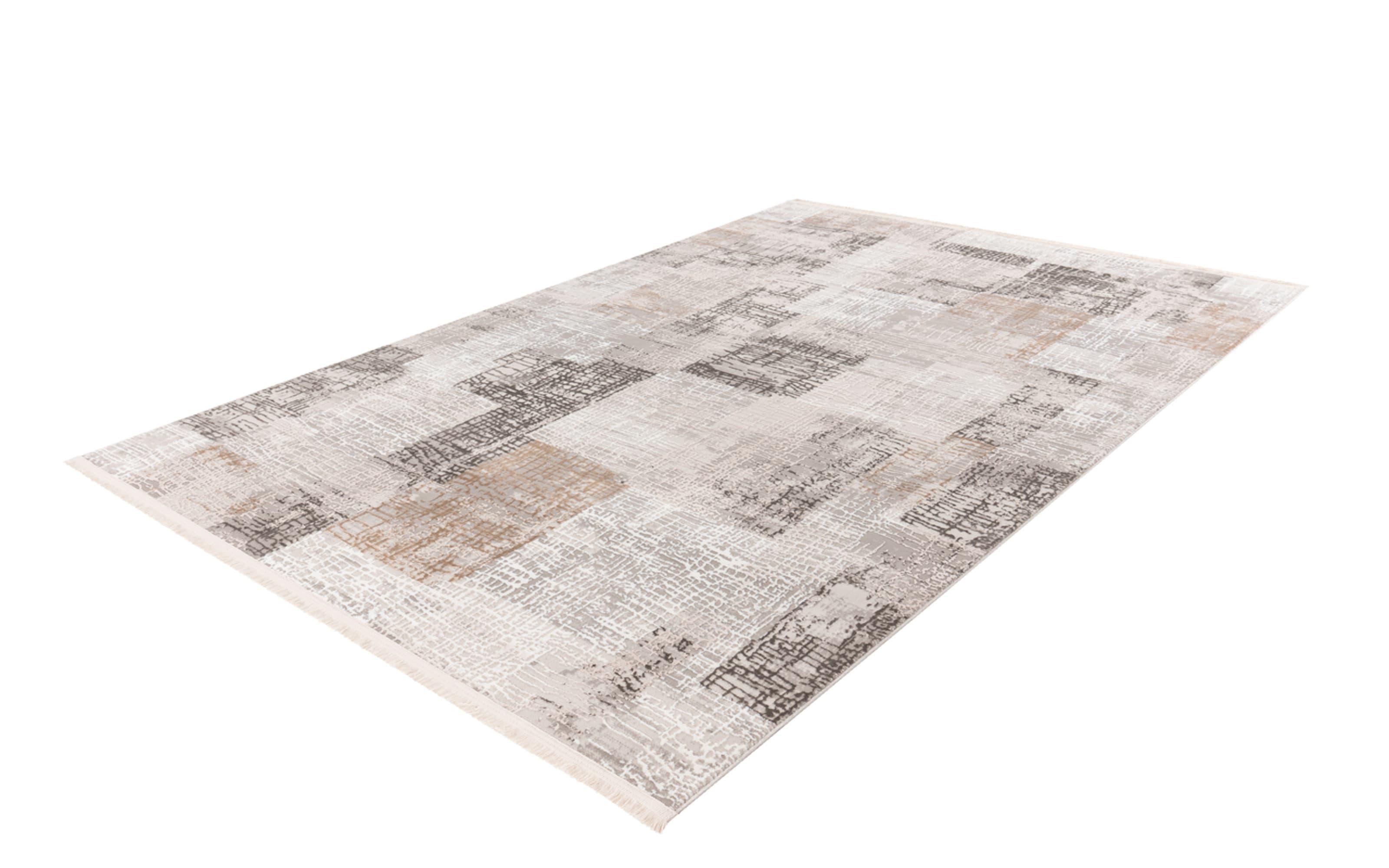 Teppich Akropolis 425 in grau-silber, ca. 120 x 180 cm