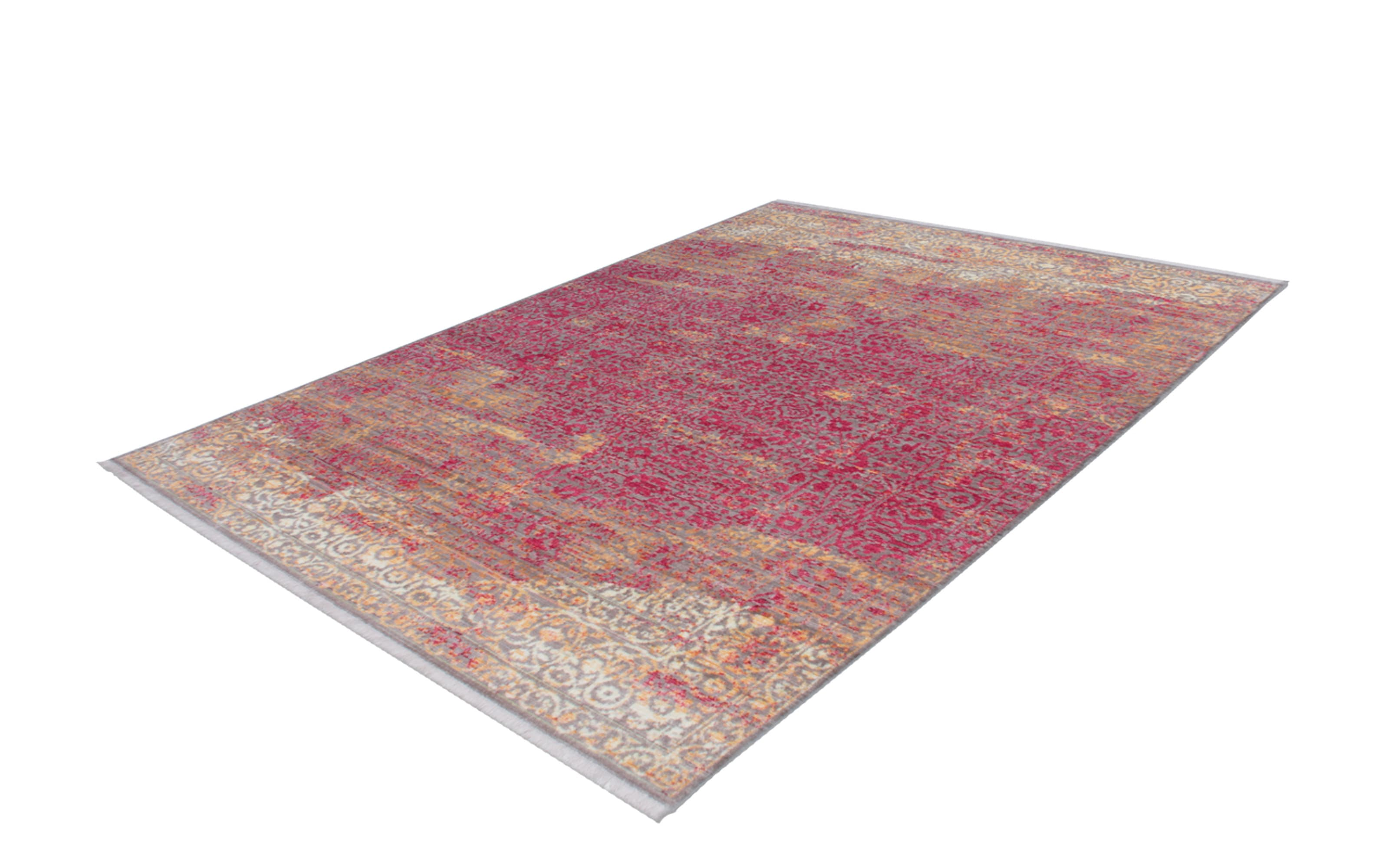 Teppich Antigua 200 in orange/rot, 120 x 170 cm