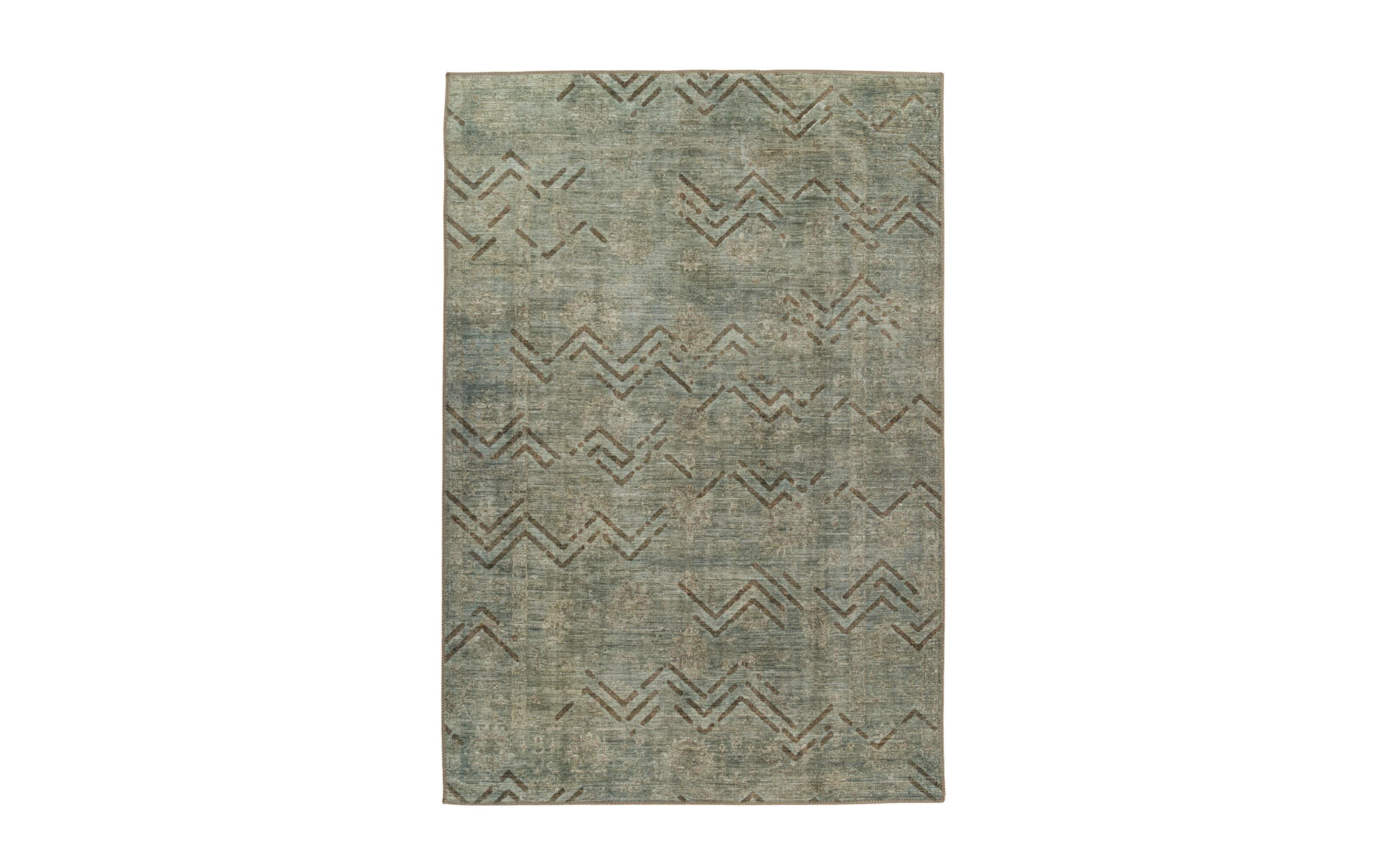 Teppich Antique 325 in khaki, 160 x 230 cm