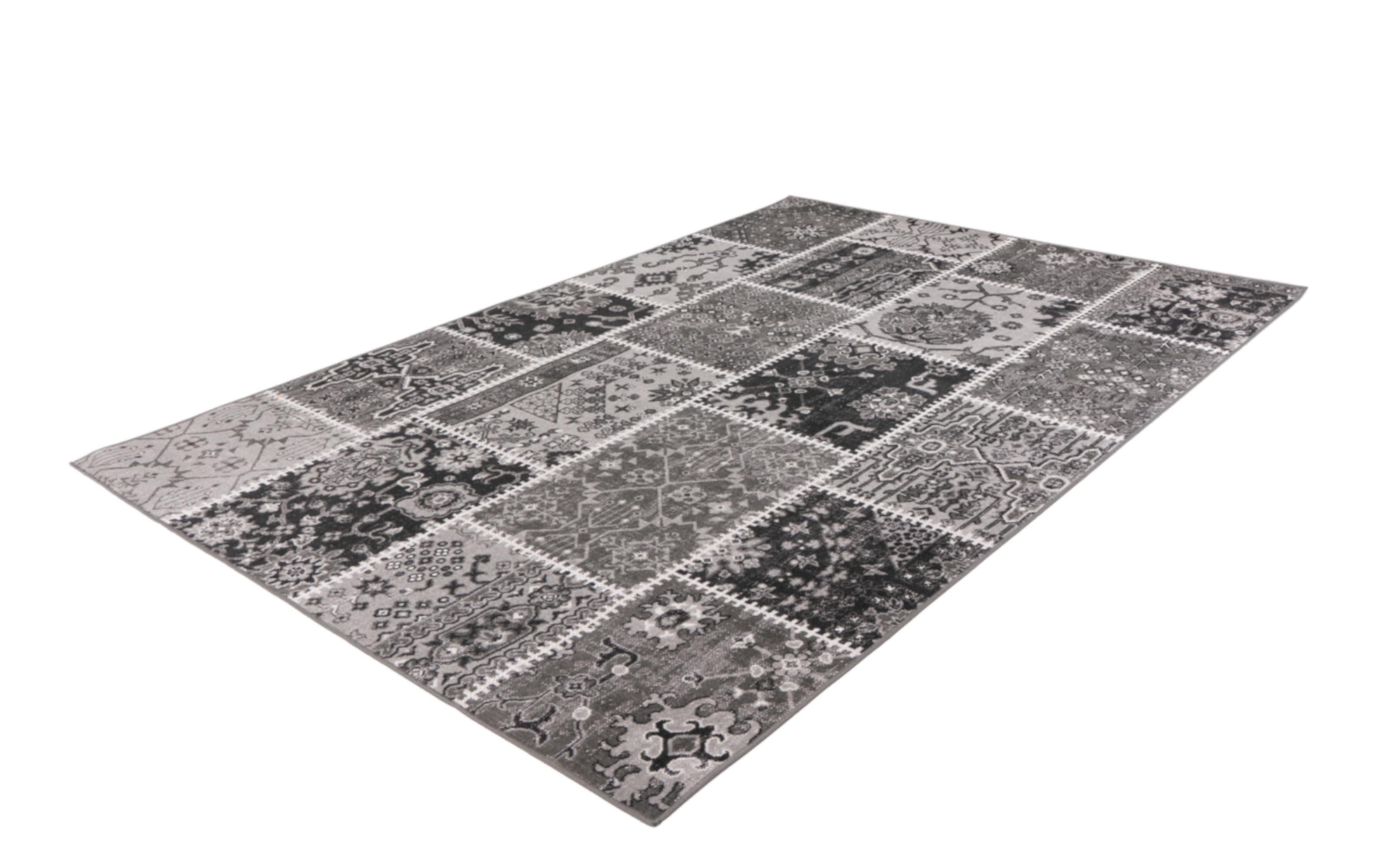 Teppich Ariya 425 in grau, 120 x 170 cm