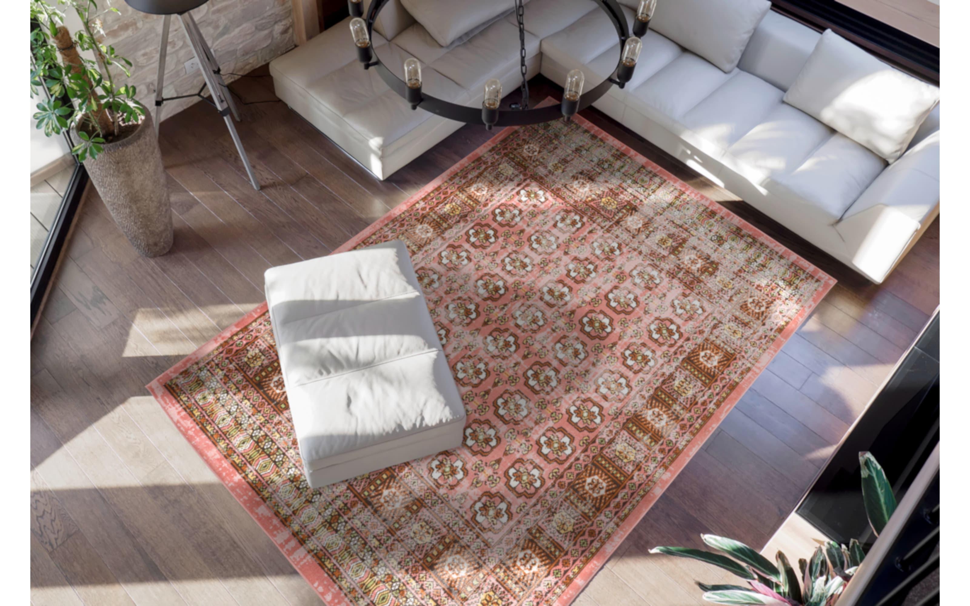 Teppich Ariya 625 in rot, 160 x 230 cm