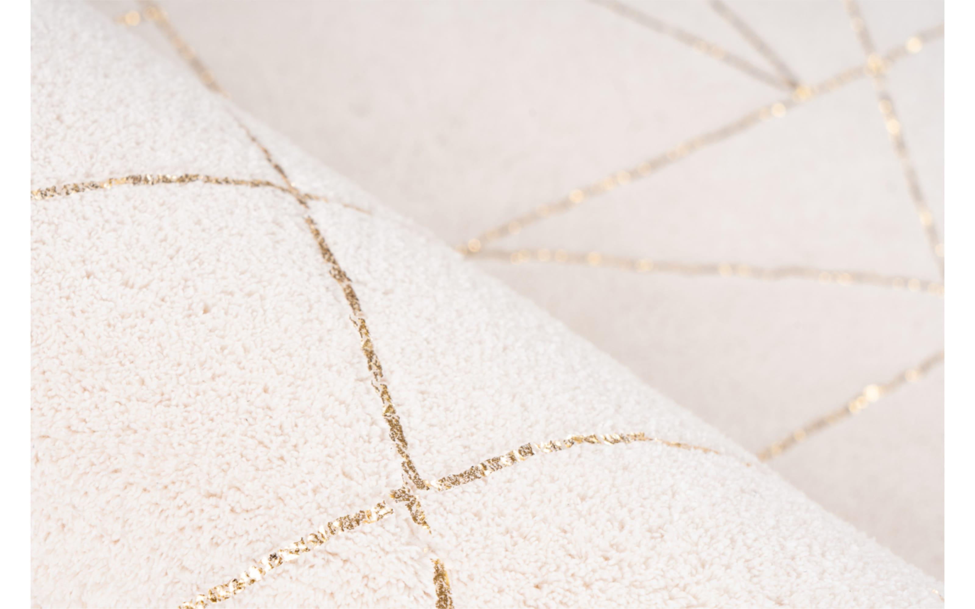 Teppich Bijou 125 in creme/gold, ca. 120 x 170 cm