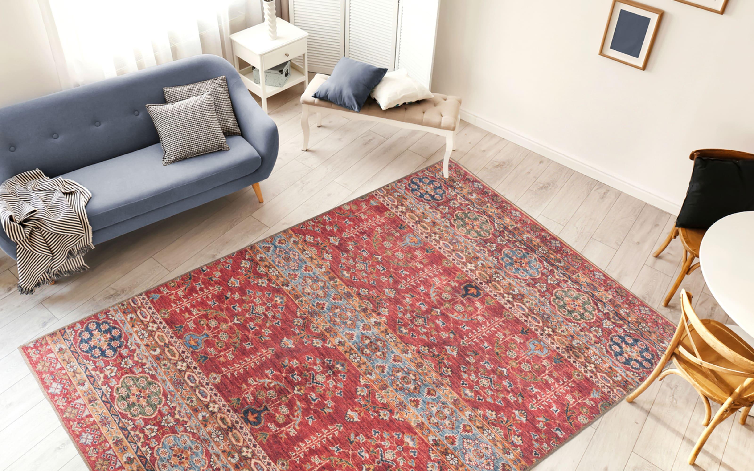 Teppich Faye 325 in multi/rot, ca. 150 x 230 cm