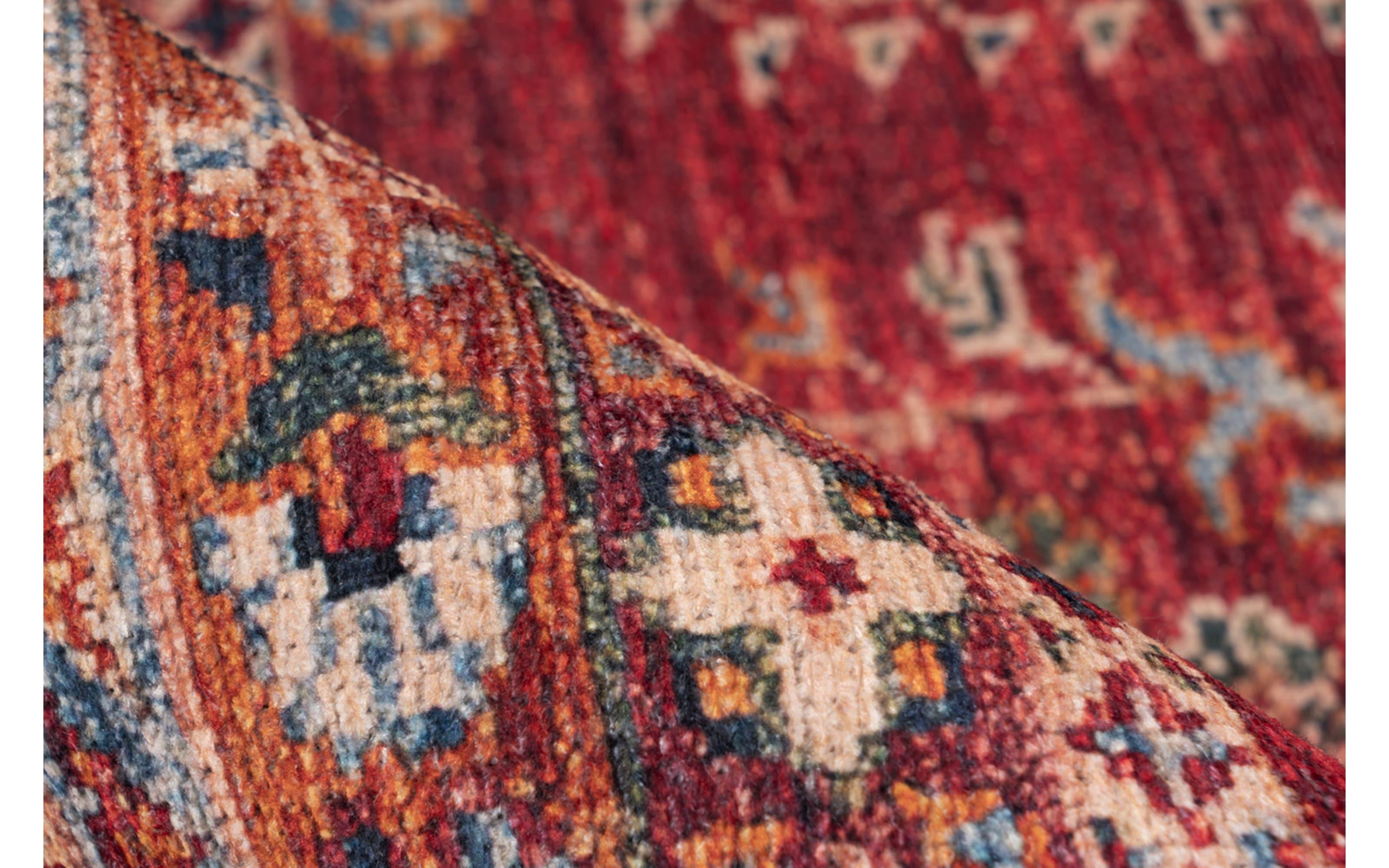 Teppich Faye 325 in multi/rot, ca. 200 x 290 cm