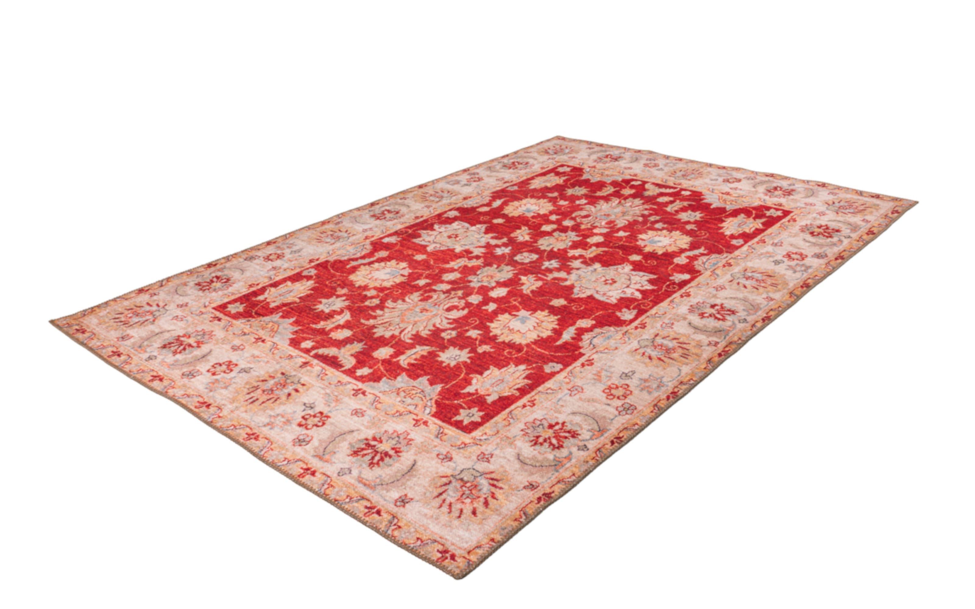 Teppich Faye 625 in rot, ca. 110 x 180 cm