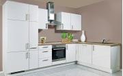 Einbauküche Flash in grau, Neff-Geschirrspüler