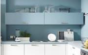 Einbauküche Touch, Lacklaminat weiß supermatt, inklusive Elektrogeräte