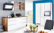 Einbauküche Flash weiß Hochglanz, AEG-Geschirrspüler