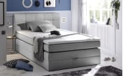 Boxspringbett New Bedford 2 in grau