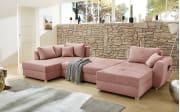 Wohnlandschaft Starnberg in rosa
