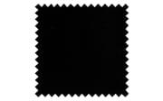 Boxspringbett Bella in schwarz, 2 x Matratze in fest