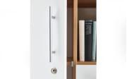 Schrank 7005 in Artisan Oak Nachbildung-weiß Matt, ca. 111 cm hoch