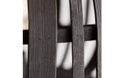 Deckenleuchte Woodrow in schwarz/Holzdekor