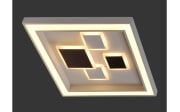 LED-Deckenleuchte Eliza in weiß, 48 x 48 cm