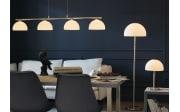 LED-Pendelleuchte Avignon in nickel matt, 4-flammig