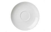 Cappuccinountertasse Bianco in weiß, 16 cm