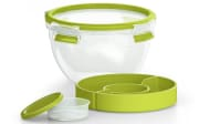 Salatbox Clip & Go in hellgrün, 1,0 l