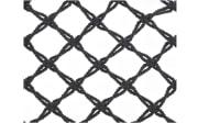 Hängestuhl in schwarz, 82 x 123 cm