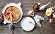 Frühstücksteller Artesano Original in weiß, 22 cm