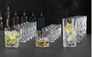 Becher-Set Noblesse aus Kristallglas, 18-teilig