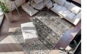 Teppich Ariya 325 in grau, 120 x 170 cm